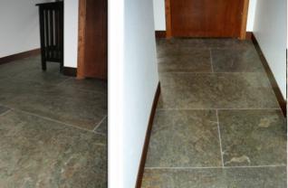 Kamenna dyha - podlaha